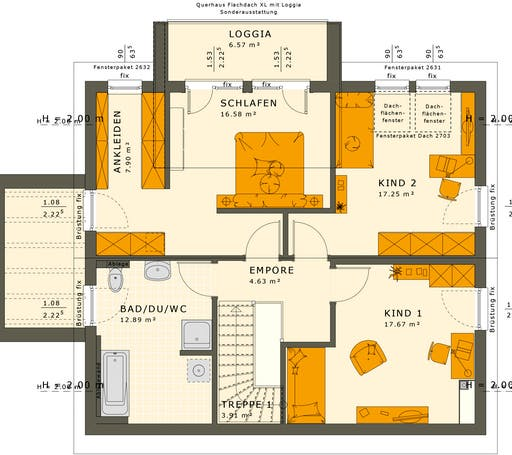 Sunshine 165 V4-V5 Floorplan 4