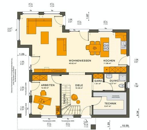Sunshine 165 V4 Floorplan 5