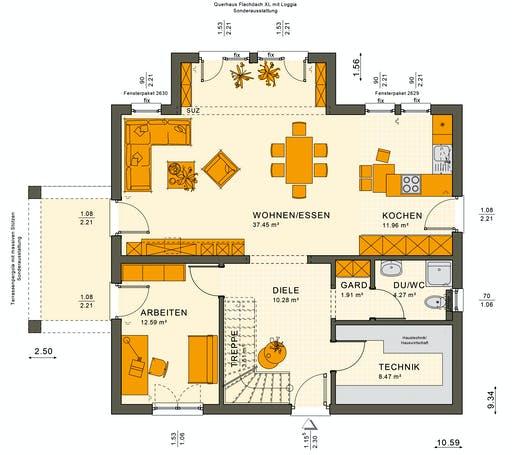 Sunshine 165 V5 Floorplan 3