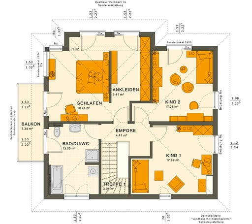 Sunshine 165 V6 Floorplan 2