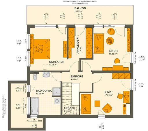 Sunshine 165 V7 Floorplan 2