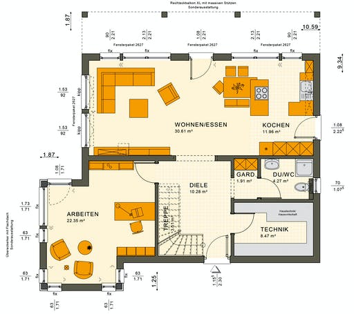 Sunshine 165 V7 Floorplan 5