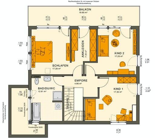 Sunshine 165 V7 Floorplan 6