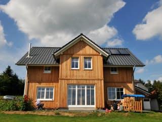 Svanhild 2 (KfW-Effizienzhaus 40) von Dammann-Haus Außenansicht 1
