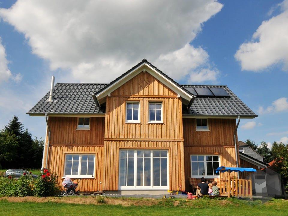 Svanhild 2 (KfW-Effizienzhaus 40) von Dammann-Haus Außenansicht