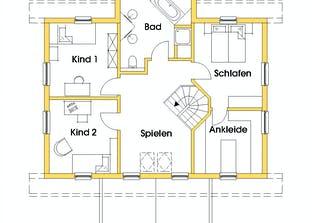 Svanhild 2 (KfW-Effizienzhaus 40) Grundriss