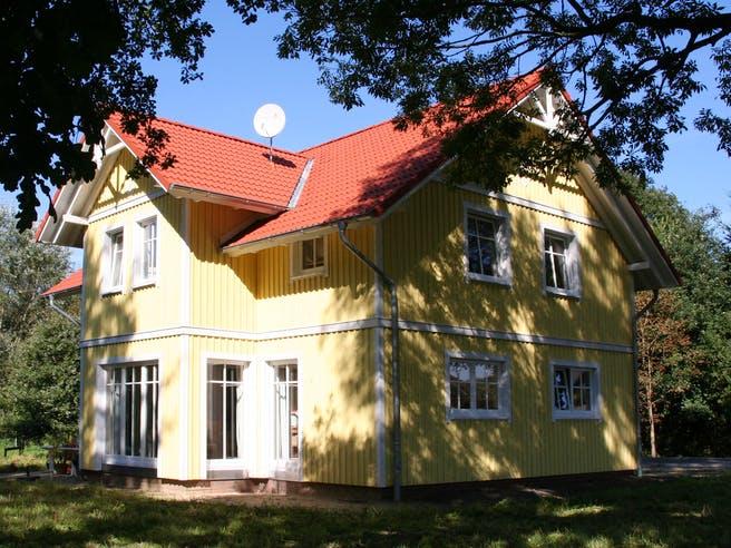 Svanhild (KfW-Effizienzhaus 40) von Dammann-Haus Außenansicht 1