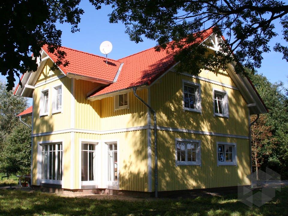 Svanhild (KfW-Effizienzhaus 40) von Dammann-Haus Außenansicht