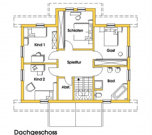 Svanhild (KfW-Effizienzhaus 55) floor_plans 0