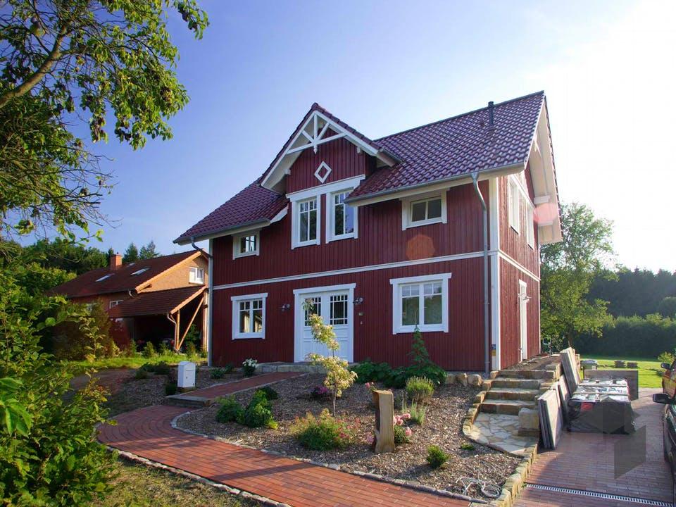 Svantje (KfW-Effizienzhaus 40) von Dammann-Haus Außenansicht