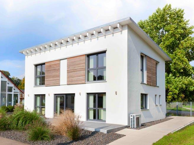 Musterhaus Ulm von TALBAU-Haus Außenansicht 1