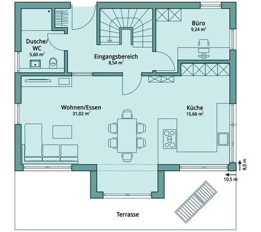 Talbau-Haus 111 Floorplan 1