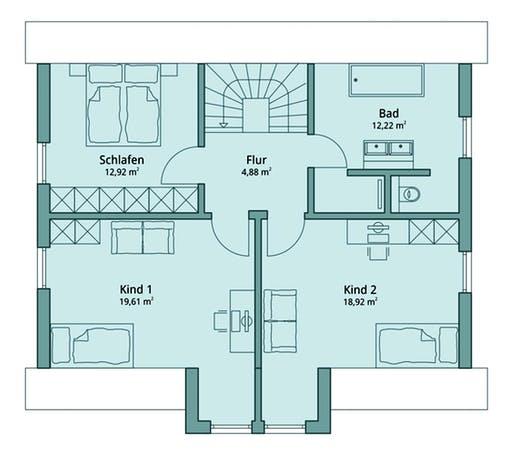 Talbau-Haus 111 Floorplan 2
