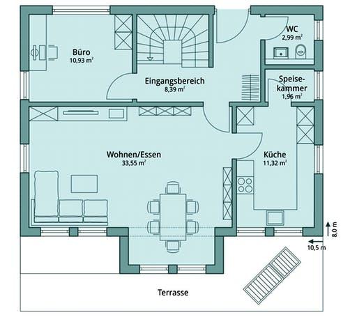 Talbau-Haus 113 Floorplan 1
