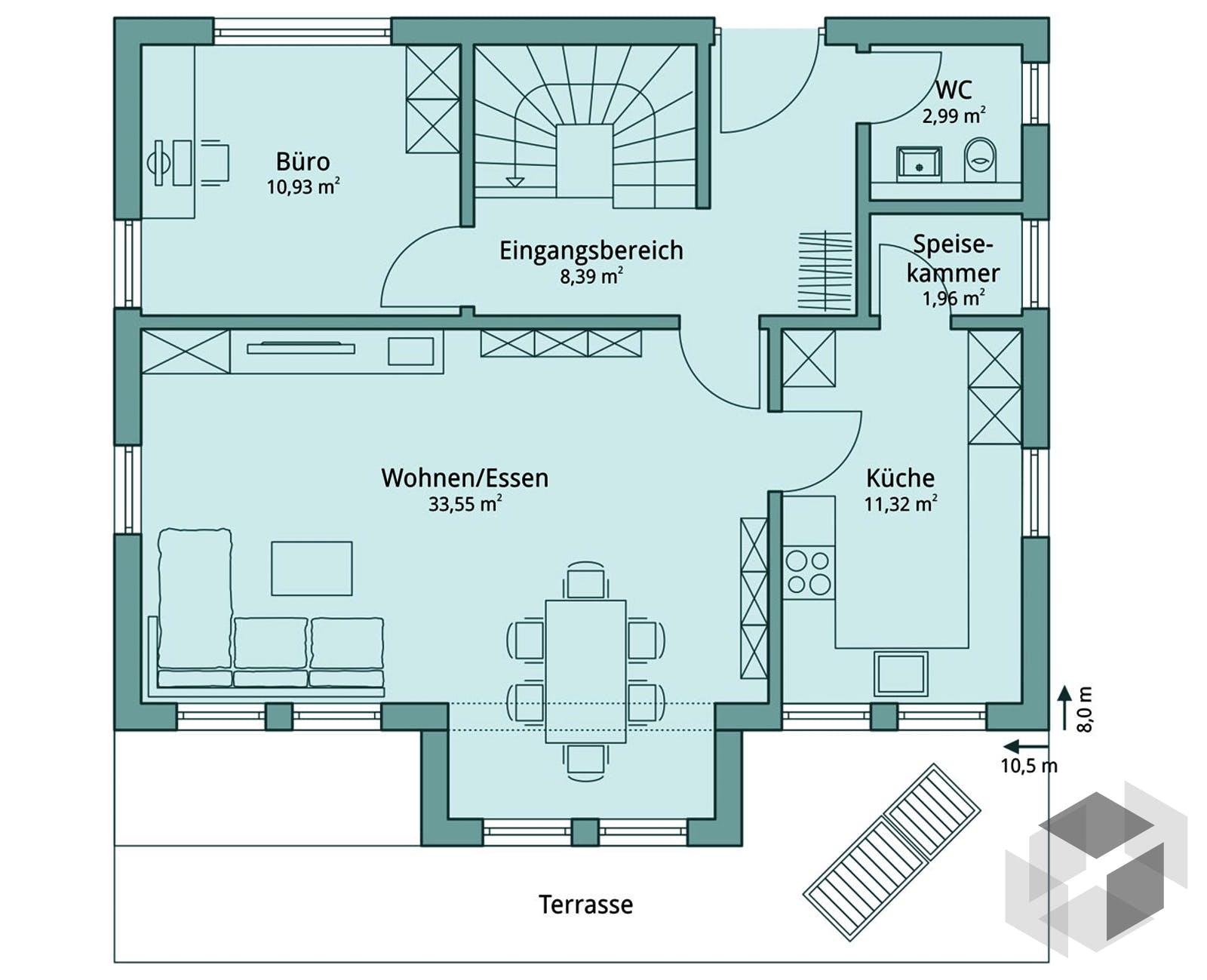 haus 113 von talbau haus komplette daten bersicht. Black Bedroom Furniture Sets. Home Design Ideas