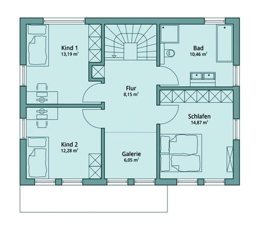 Talbau-Haus 113 Floorplan 2