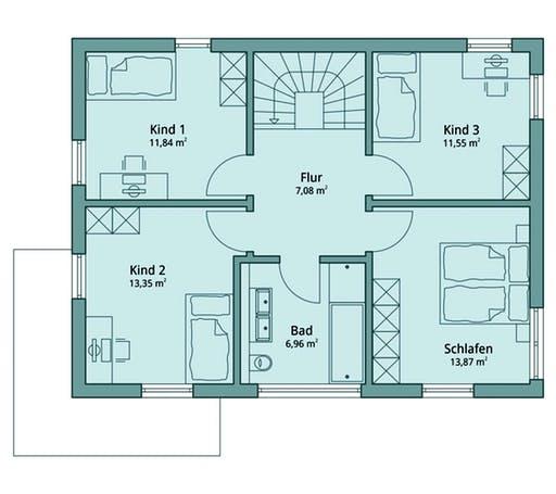 Talbau-Haus 114 Floorplan 2