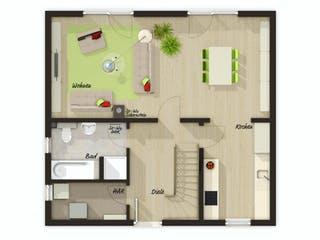 Aktionshaus Aspekt 110 von Town & Country Haus Grundriss 1
