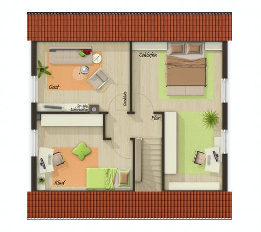 Town & Country - Aspekt 110 Floorplan 2