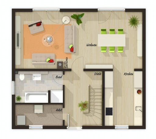 Town & Country - Aspekt 133 Floorplan 1