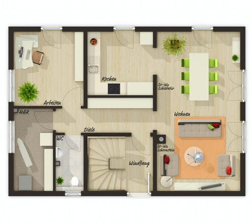 Town & Country - Bodensee 129 Floorplan 1