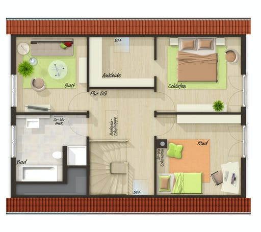 Town & Country - Bodensee 129 Floorplan 2