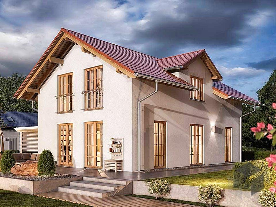 Bodensee 129 - Süd von Town & Country Haus Deutschland Außenansicht