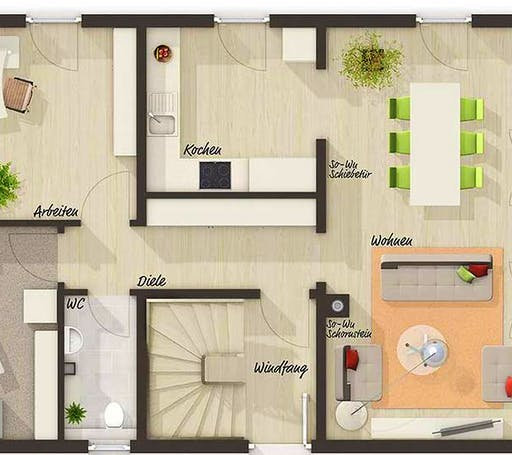 Town & Country - Bodensee 129 Süd Floorplan 1
