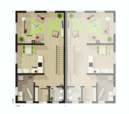 Town & Country - DH Aura 125 Floorplan 1