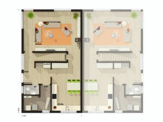 DH Aura 136 von Town & Country Haus Deutschland Grundriss 1