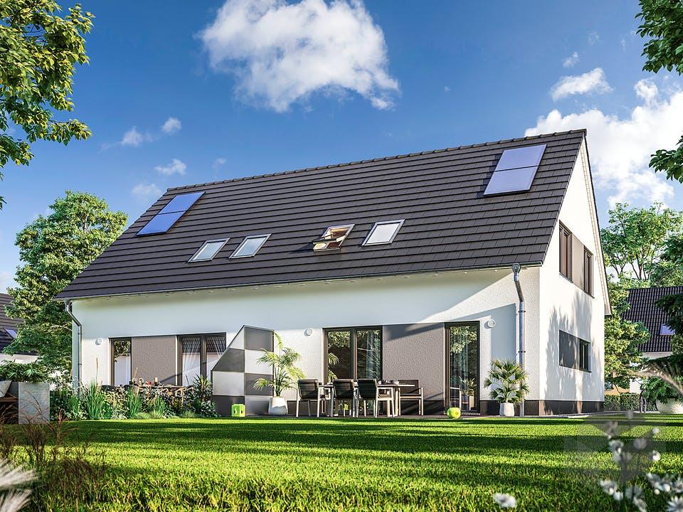 DH Behringen 116 von Town & Country Haus Deutschland Außenansicht