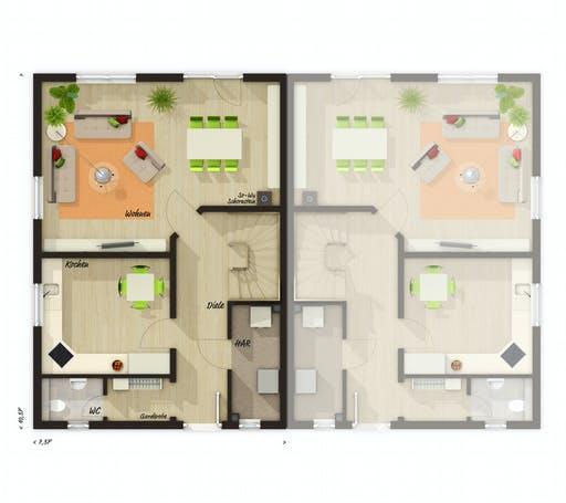 Town & Country - DH Behringen 116 Floorplan 1
