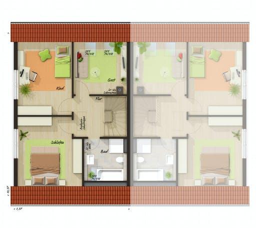Town & Country - DH Behringen 116 Floorplan 2