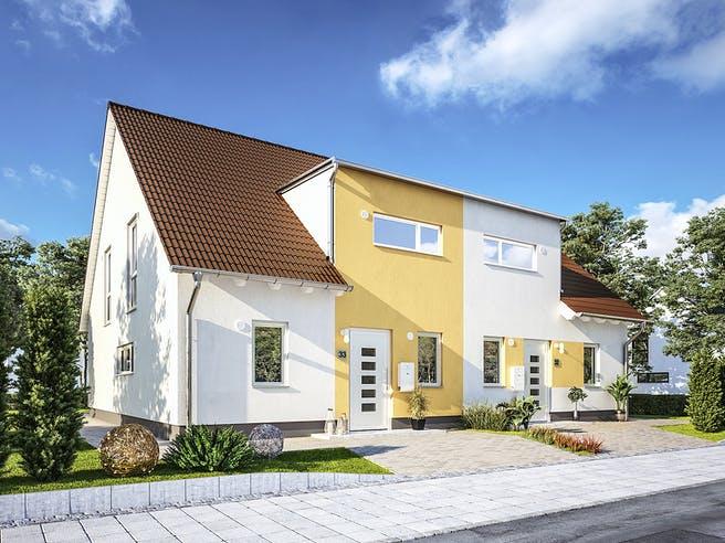DH Duett 125 von Town & Country Haus Deutschland Außenansicht 1