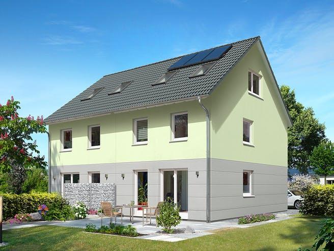 DH Mainz 128 von Town & Country Haus Deutschland Außenansicht 1