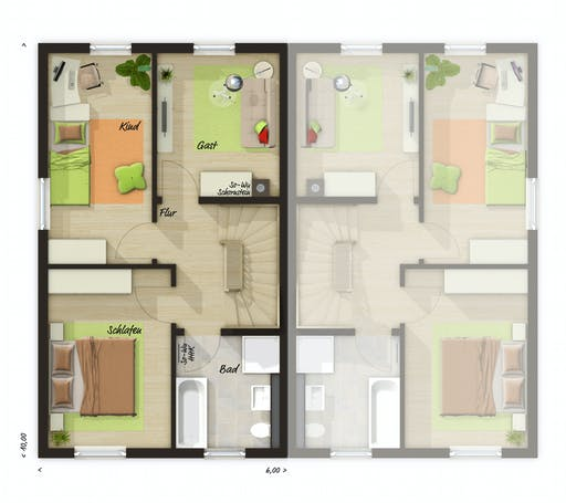 Town & Country  - DH Mainz 128 Floorplan 2