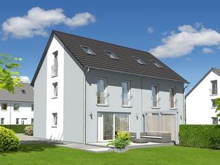 DH Mainz 128 Modern von Town & Country Haus Deutschland Außenansicht 1