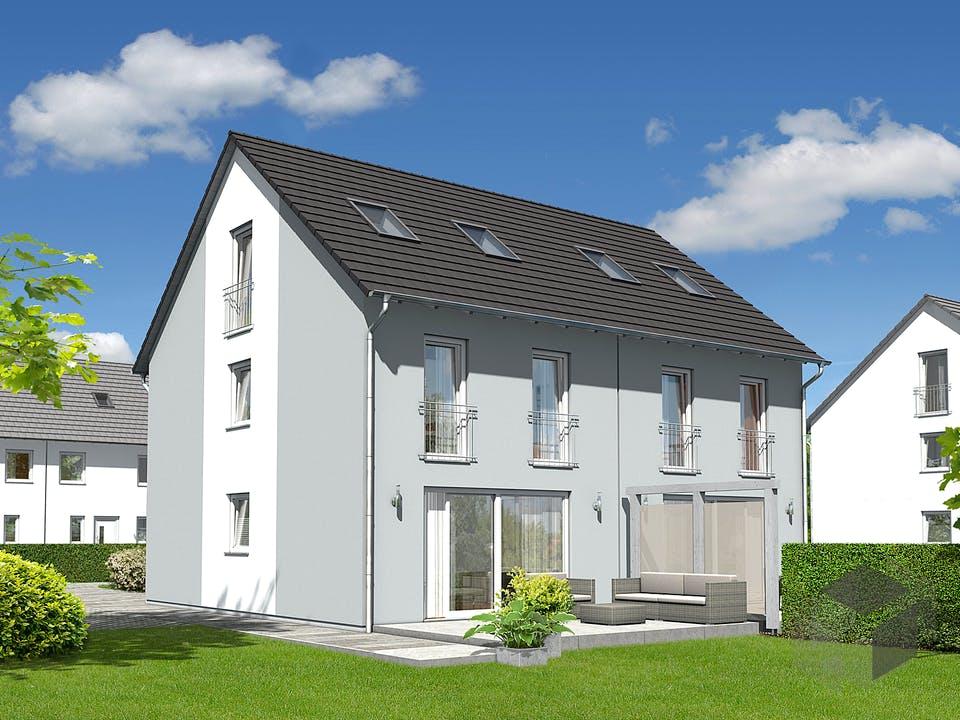 DH Mainz 128 Modern von Town & Country Haus Deutschland Außenansicht