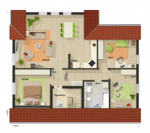 Town & Country - Domizil 192 Floorplan 2