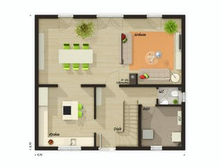 Edition Clever 138+ von Town & Country Haus Grundriss 1
