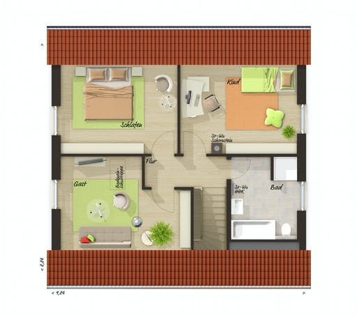 Town & Country - Edition Clever 138+ Floorplan 2