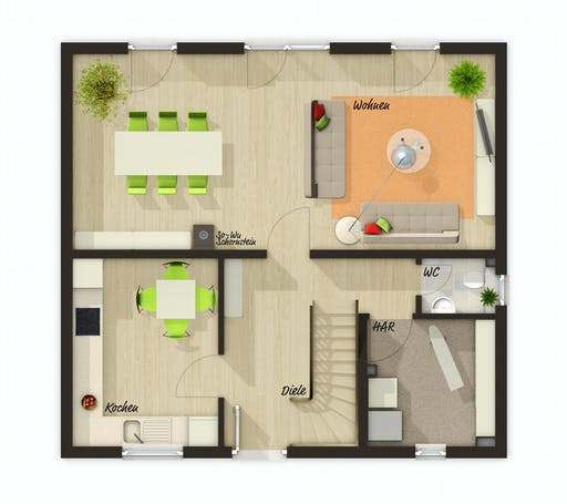 Town & Country - Flair 110 Floorplan 1