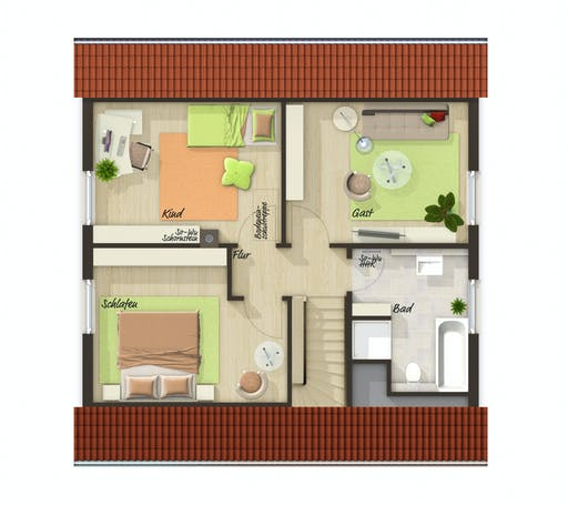 Town & Country - Flair 110 Floorplan 2