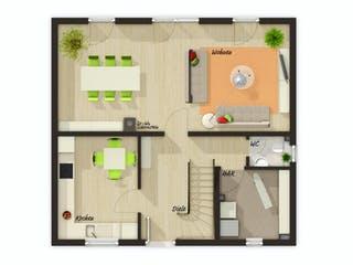 Flair 113 von Town & Country Haus Grundriss 1