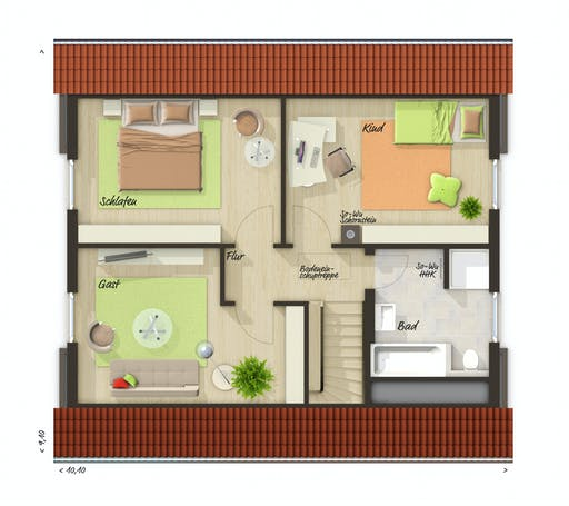 Town & Country  - Flair 130 Floorplan 2