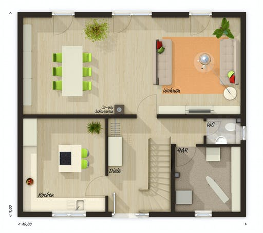 Town & Country - Flair 134 Floorplan 1