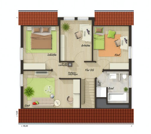 Town & Country - Flair 134 Floorplan 2