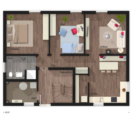 Town & Country - Stadthaus Flair 180 DUO Floorplan 2