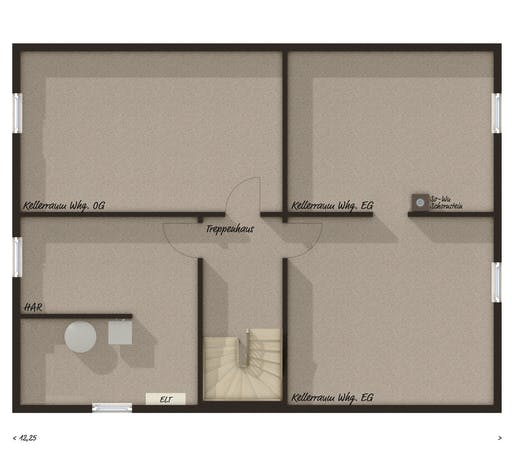 Town & Country - Stadthaus Flair 180 DUO Floorplan 3