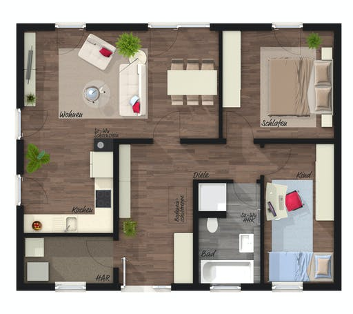Town & Country - Forever Young Floorplan 1